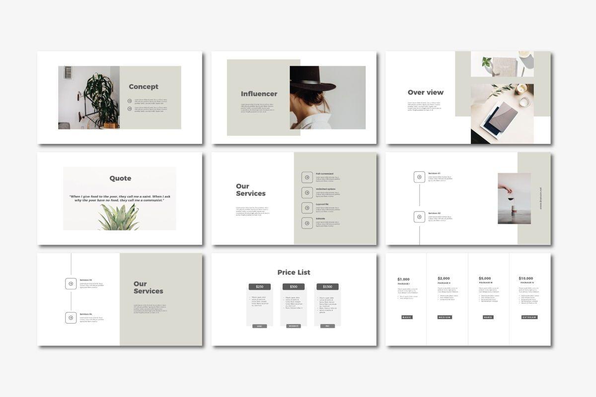 Brandson - PowerPoint Template, Slide 3, 04555, Presentation Templates — PoweredTemplate.com
