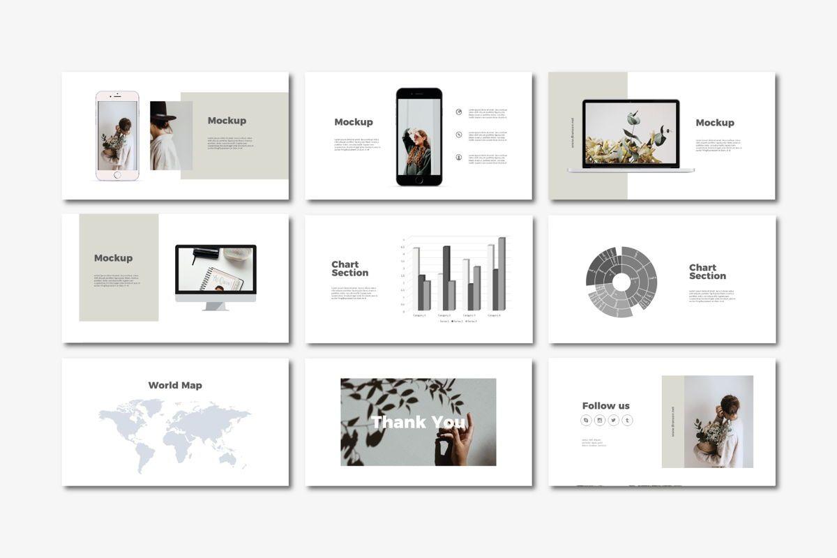 Brandson - PowerPoint Template, Slide 5, 04555, Presentation Templates — PoweredTemplate.com