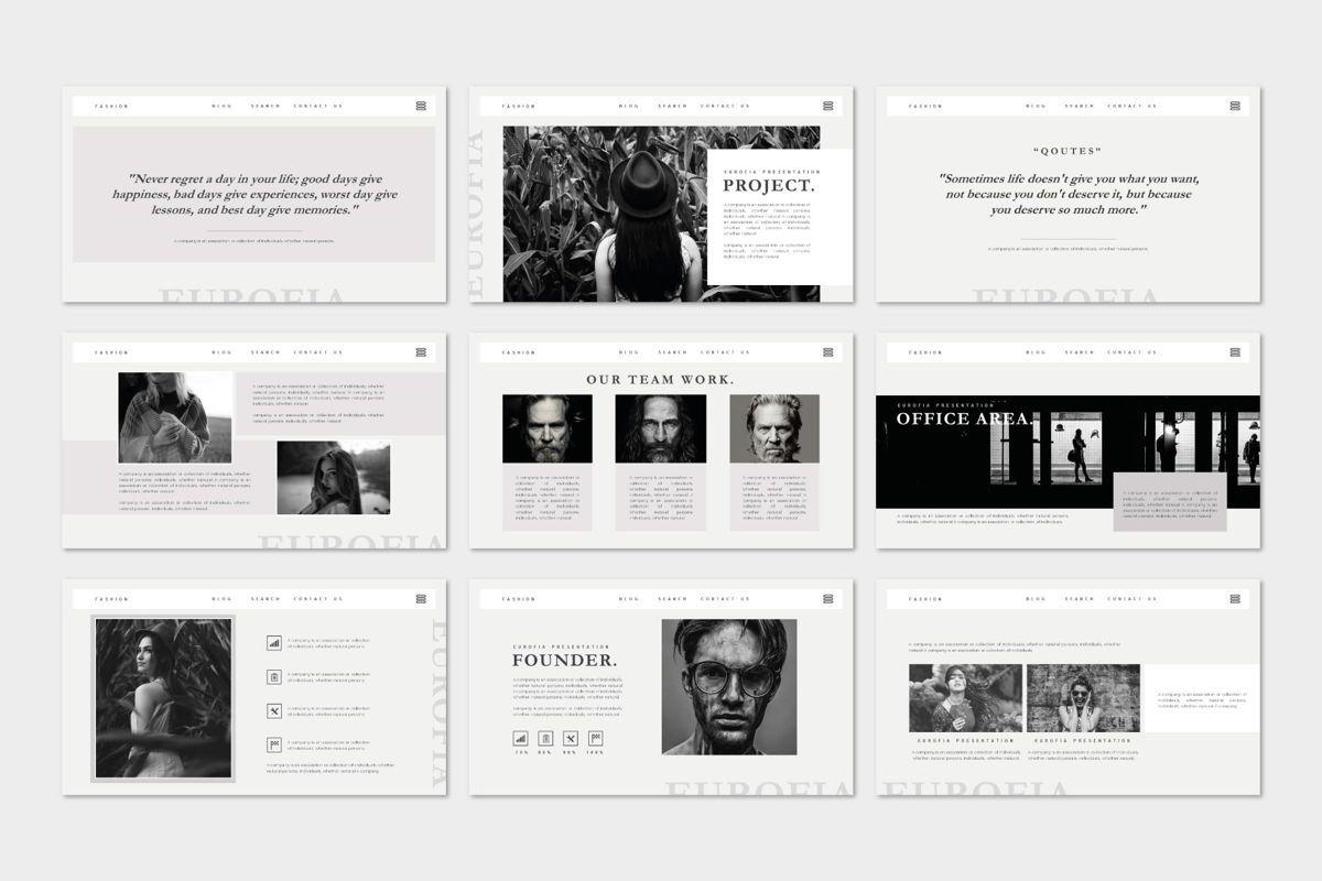 Eurofia - PowerPoint Template, Slide 3, 04557, Presentation Templates — PoweredTemplate.com