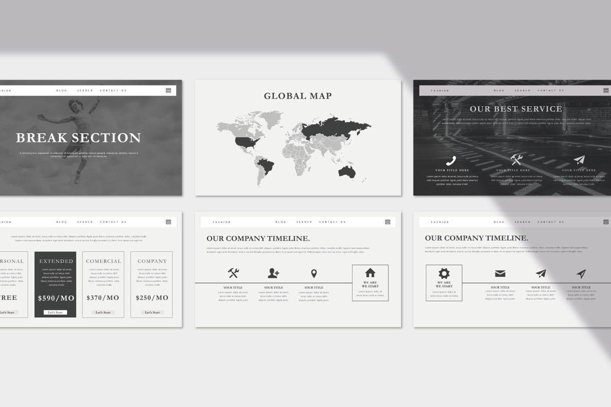 Eurofia - PowerPoint Template, Slide 5, 04557, Presentation Templates — PoweredTemplate.com