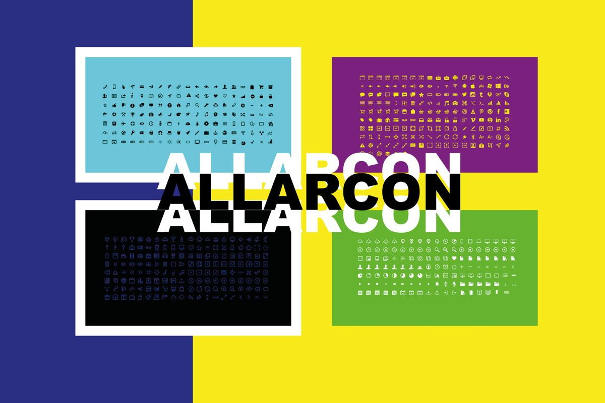 Allarcon - PowerPoint Template, Slide 10, 04558, Presentation Templates — PoweredTemplate.com