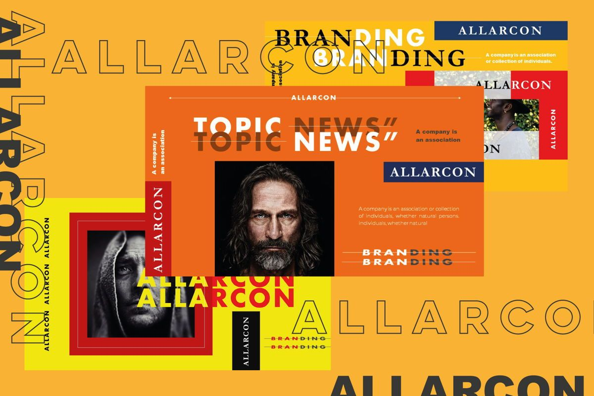Allarcon - PowerPoint Template, Slide 2, 04558, Presentation Templates — PoweredTemplate.com