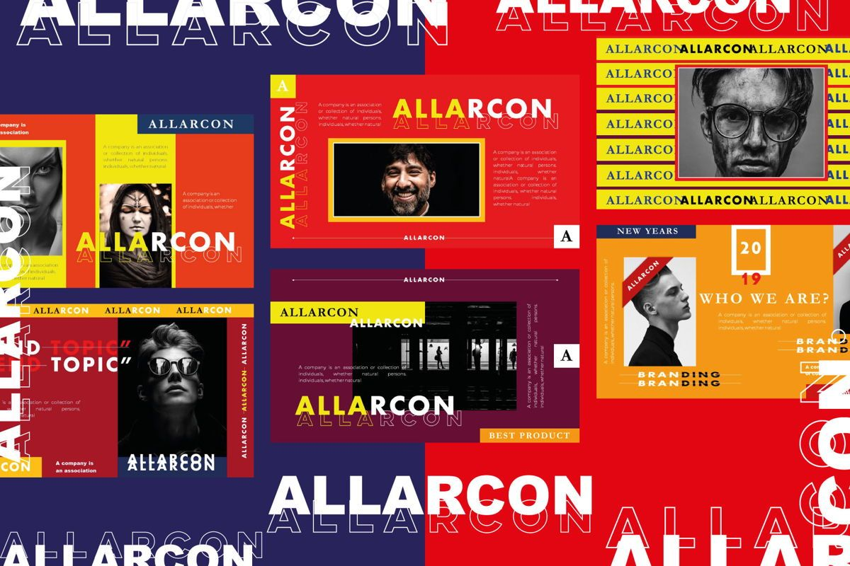 Allarcon - PowerPoint Template, Slide 3, 04558, Presentation Templates — PoweredTemplate.com