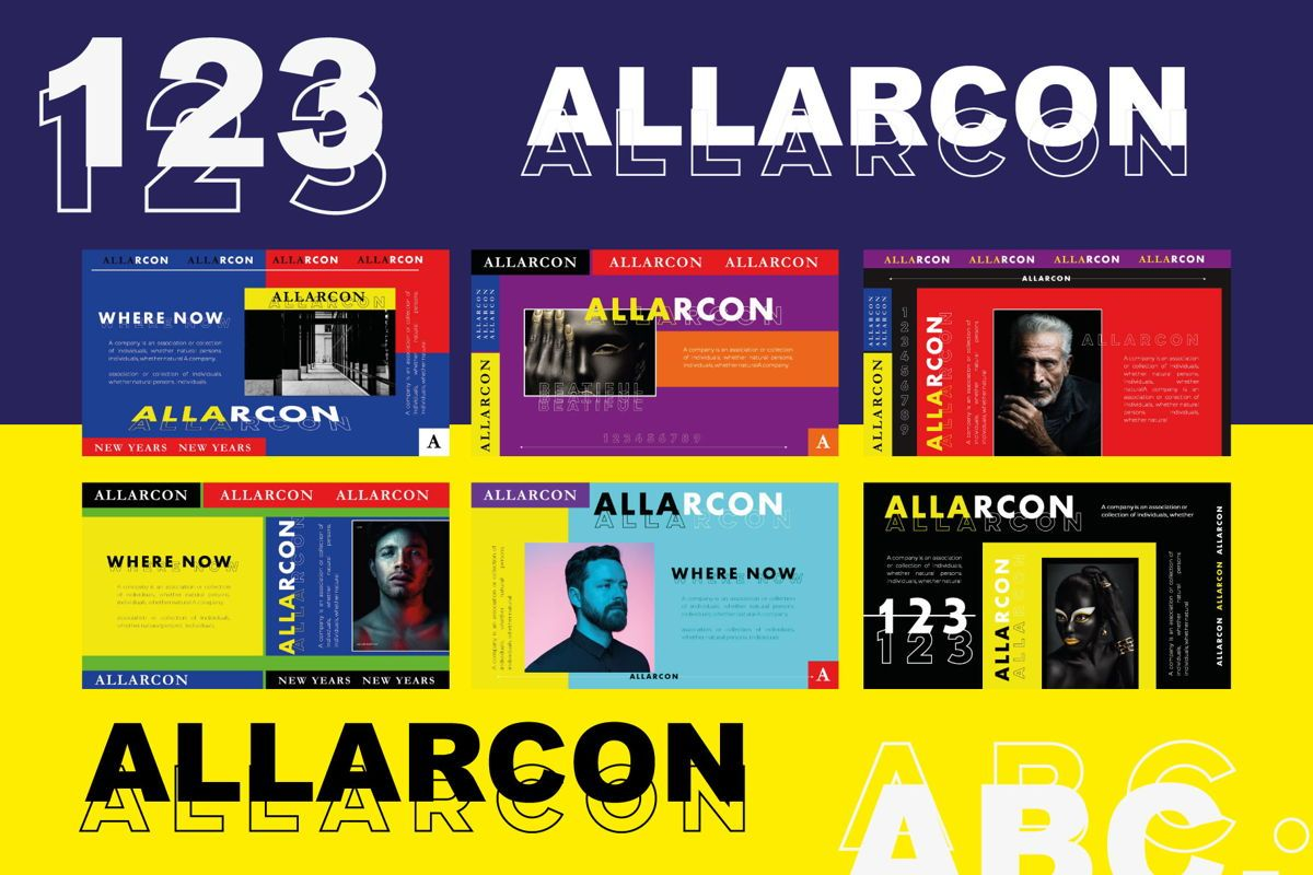 Allarcon - PowerPoint Template, Slide 5, 04558, Presentation Templates — PoweredTemplate.com