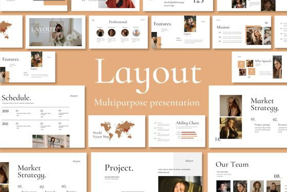 Presentation Templates: Layout Vol 2 - PowerPoint Template #04559