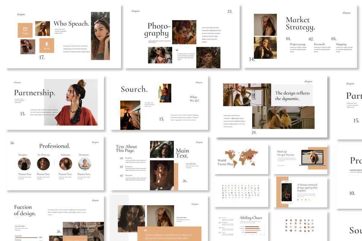 Layout Vol 2 - PowerPoint Template, Slide 5, 04559, Presentation Templates — PoweredTemplate.com