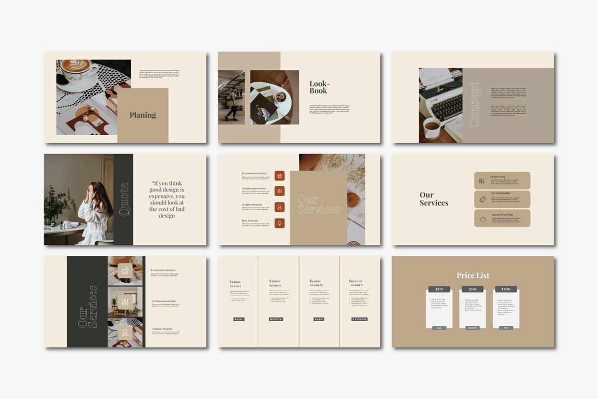 Beasley - PowerPoint Template, Slide 5, 04560, Presentation Templates — PoweredTemplate.com