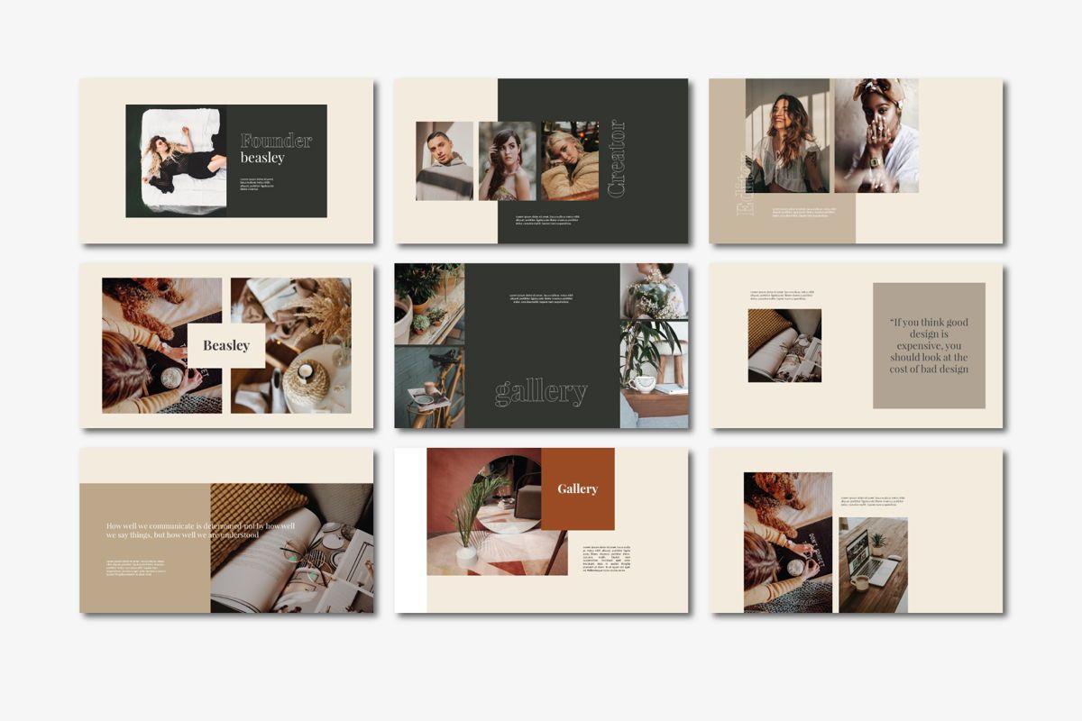 Beasley - PowerPoint Template, Slide 6, 04560, Presentation Templates — PoweredTemplate.com