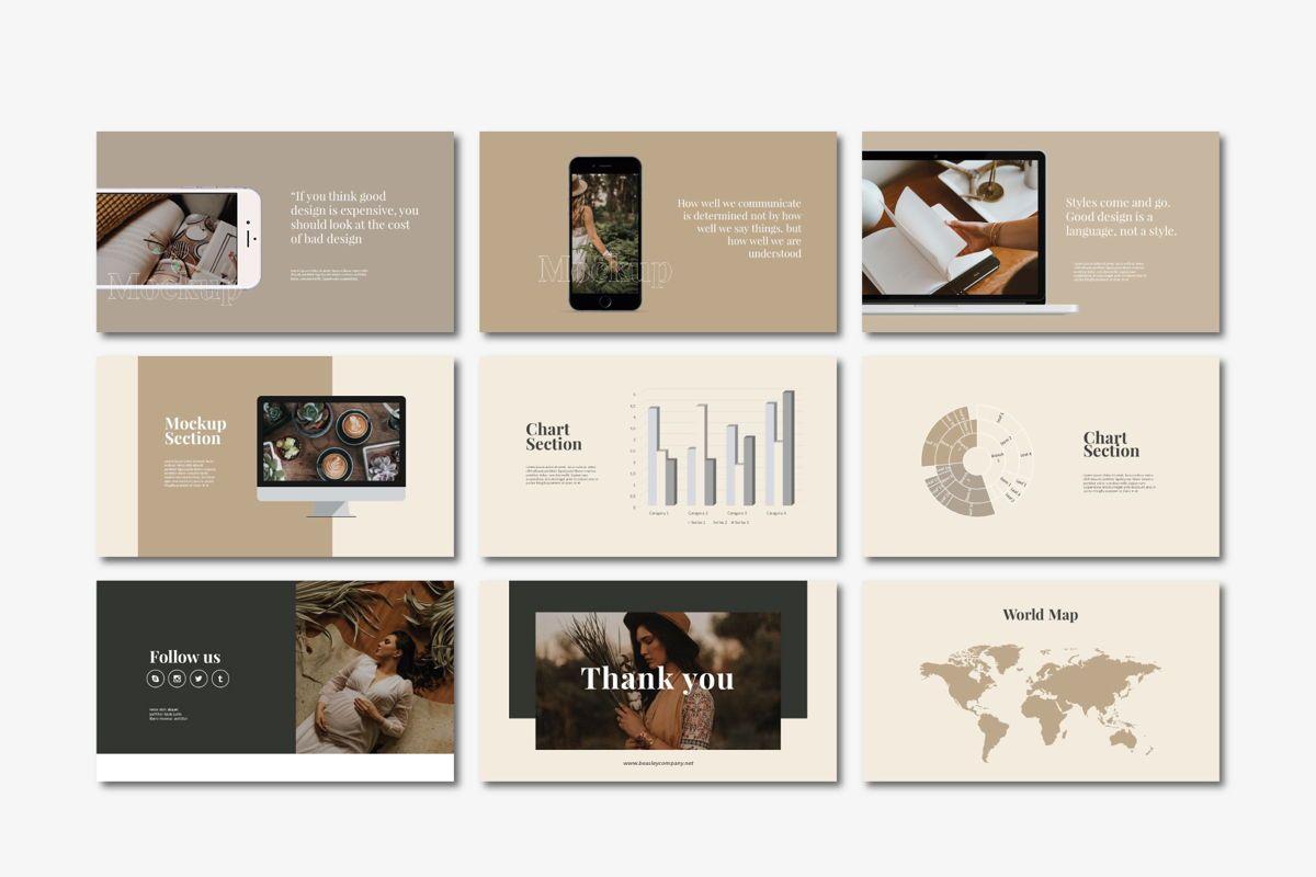 Beasley - PowerPoint Template, Slide 7, 04560, Presentation Templates — PoweredTemplate.com