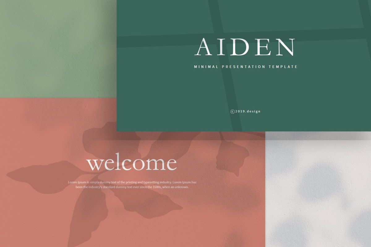 Aiden - PowerPoint Template, Slide 2, 04561, Presentation Templates — PoweredTemplate.com