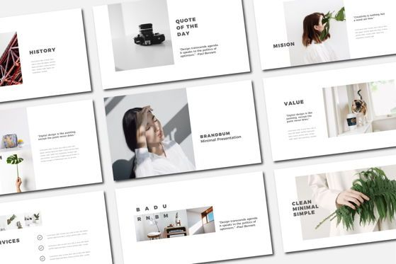 Presentation Templates: Brandbum - PowerPoint Template #04562
