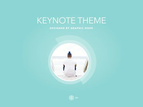 Presentation Templates: Bubbly Keynote Presentation Template #04567