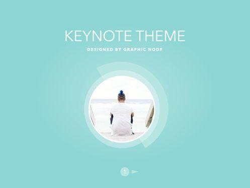 Presentation Templates: Bubbly Keynote Presentation Template #04567