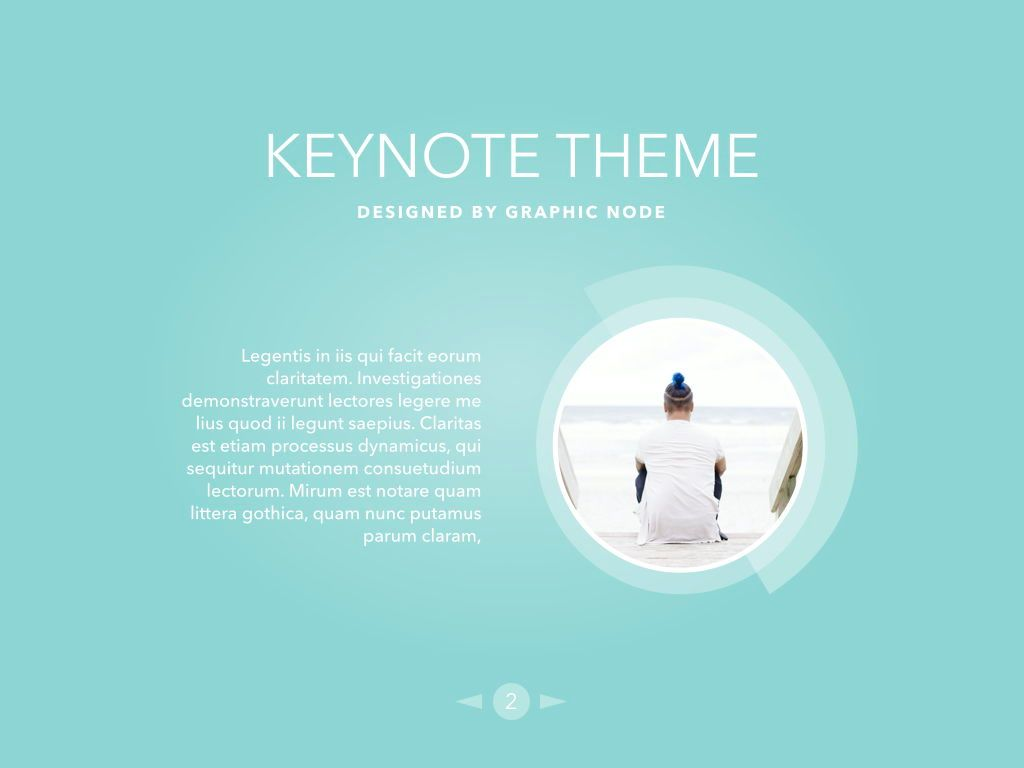 Bubbly Keynote Presentation Template, Folie 2, 04567, Präsentationsvorlagen — PoweredTemplate.com