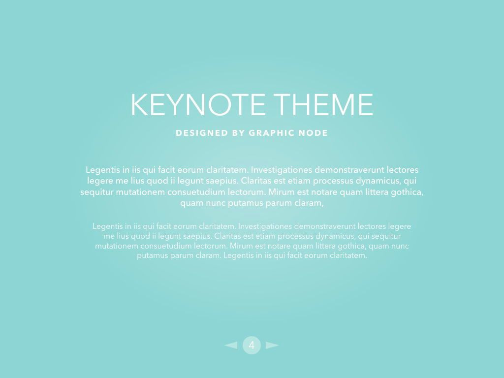 Bubbly Keynote Presentation Template, Folie 3, 04567, Präsentationsvorlagen — PoweredTemplate.com