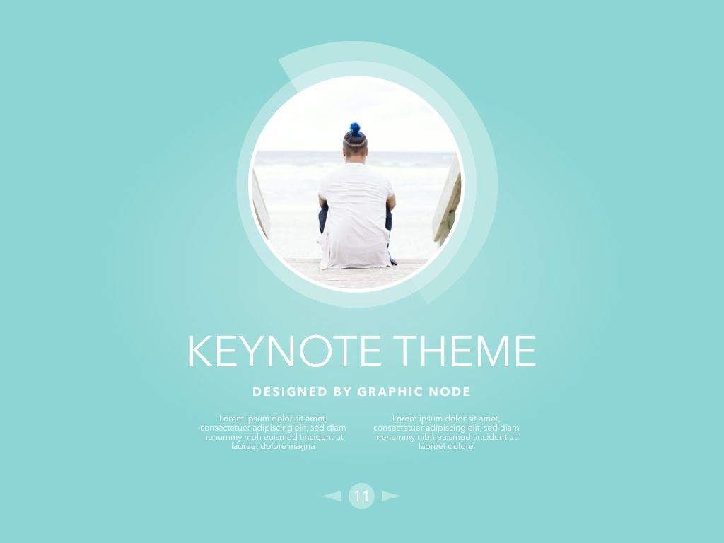 Bubbly Keynote Presentation Template, Folie 8, 04567, Präsentationsvorlagen — PoweredTemplate.com
