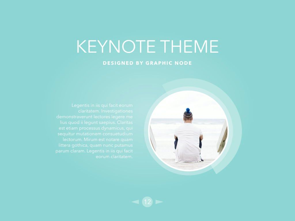 Bubbly Keynote Presentation Template, Folie 9, 04567, Präsentationsvorlagen — PoweredTemplate.com