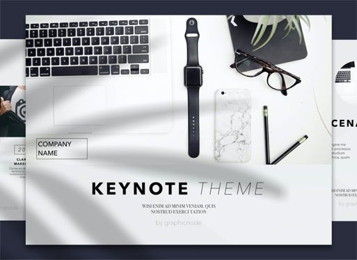 Presentation Templates: Conference 02 Keynote Presentation Template #04568