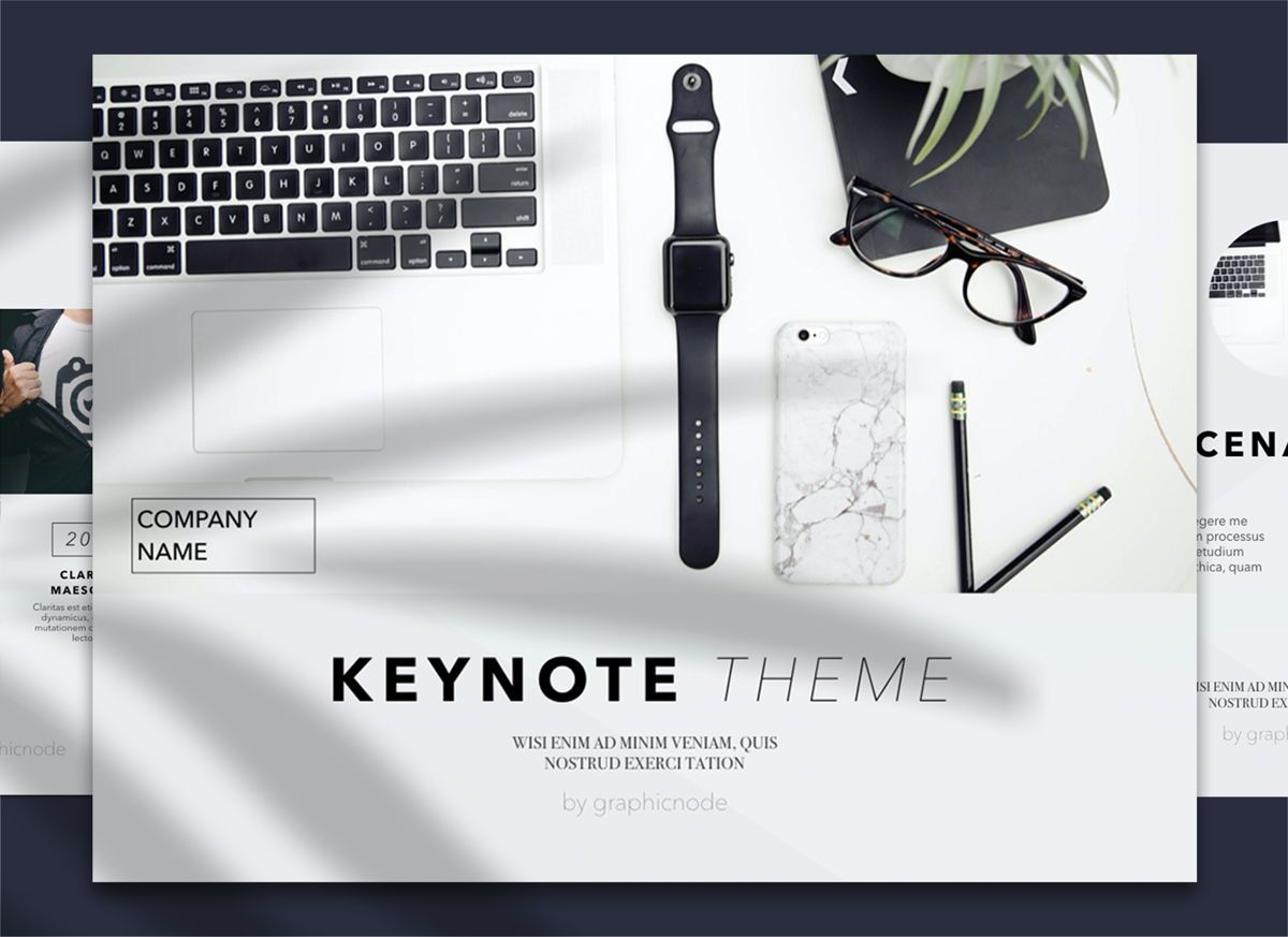 Conference 02 Keynote Presentation Template, 04568, Präsentationsvorlagen — PoweredTemplate.com