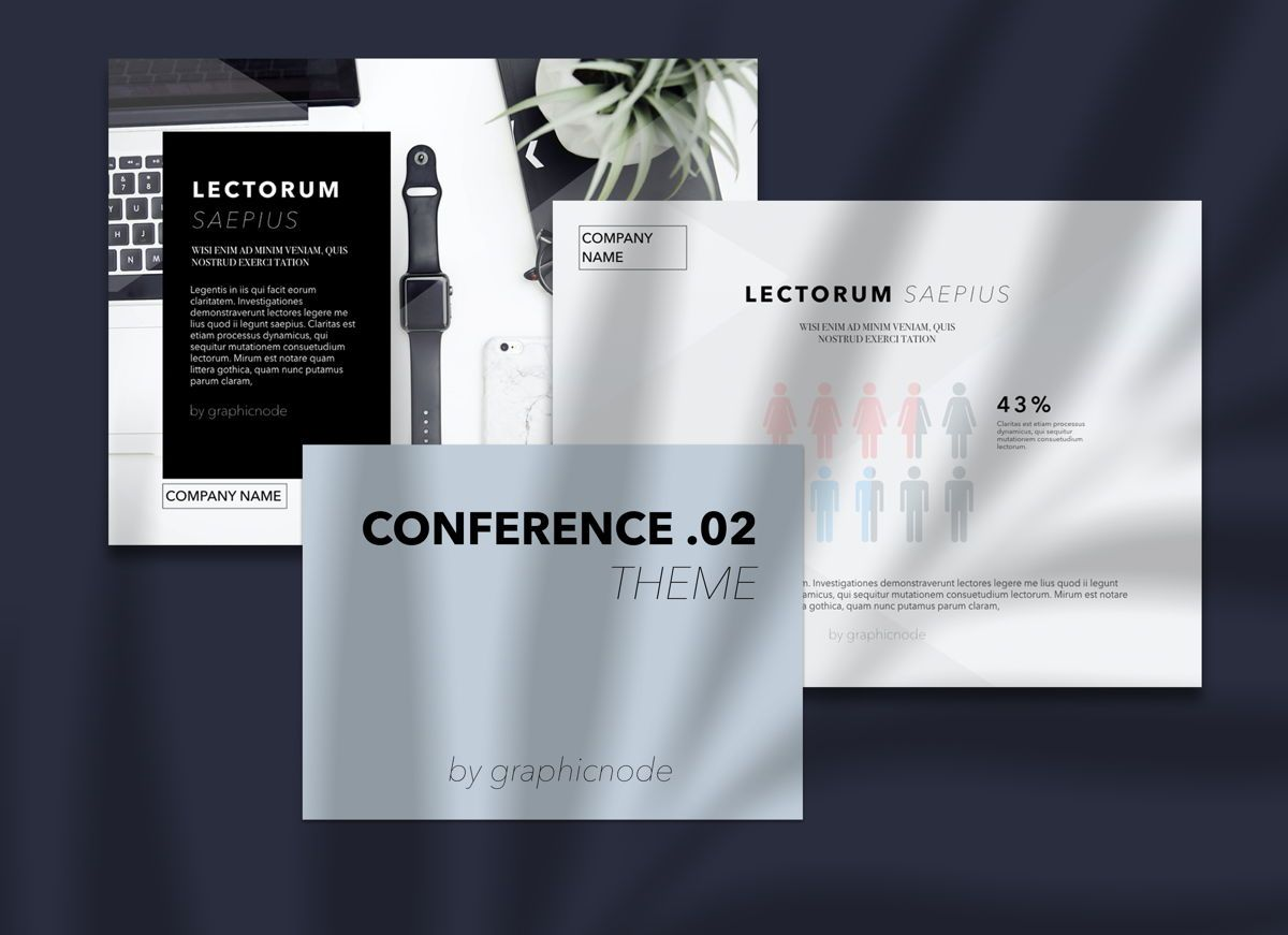 Conference 02 Keynote Presentation Template, Folie 2, 04568, Präsentationsvorlagen — PoweredTemplate.com