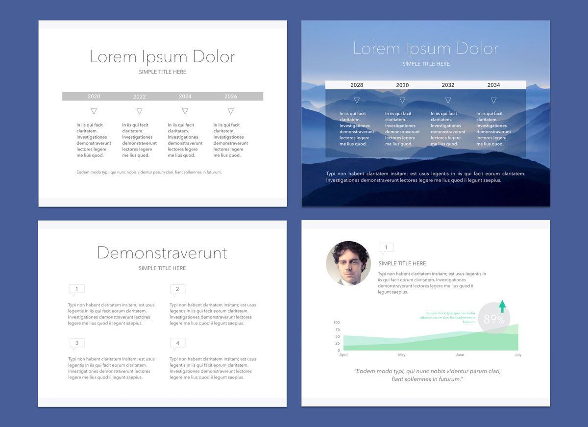 Disclosure Keynote Presentation Template, Slide 4, 04570, Presentation Templates — PoweredTemplate.com