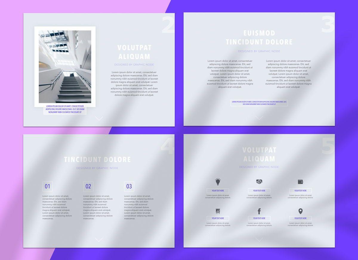 Dream Team Keynote Presentation Template, 04571, Presentation Templates — PoweredTemplate.com