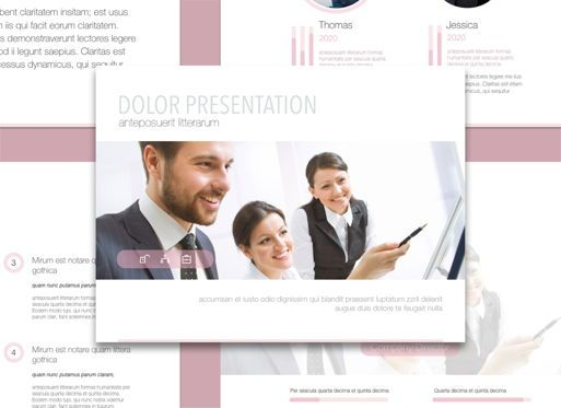 Presentation Templates: Encouragement Keynote Presentation Template #04573