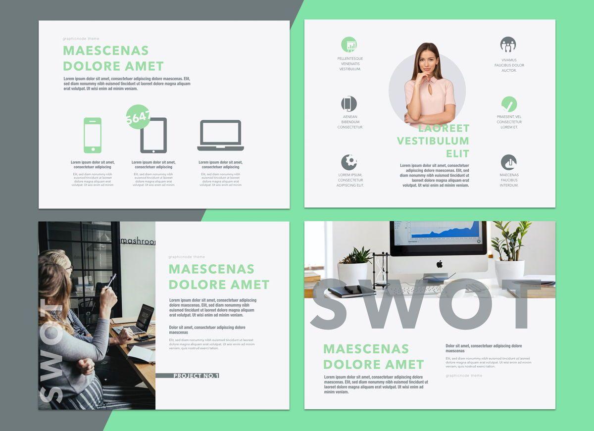 Enlighten Keynote Presentation Template, Folie 6, 04574, Präsentationsvorlagen — PoweredTemplate.com