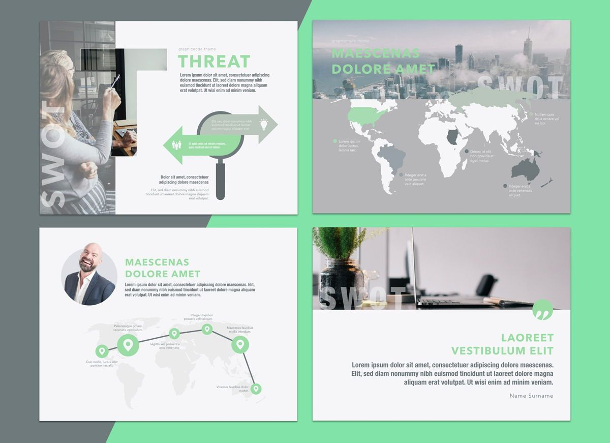 Enlighten Keynote Presentation Template, Folie 8, 04574, Präsentationsvorlagen — PoweredTemplate.com