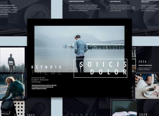 Presentation Templates: Lucid Dream 02 Keynote Presentation Template #04576