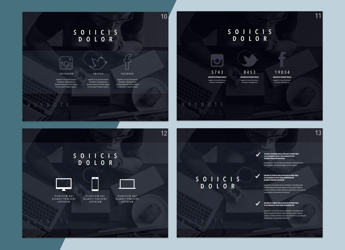 Lucid Dream 02 Keynote Presentation Template, Folie 3, 04576, Präsentationsvorlagen — PoweredTemplate.com