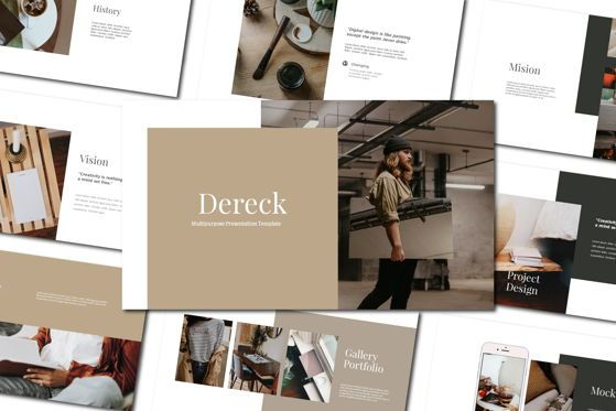 Presentation Templates: Dereck - PowerPoint Template #04579
