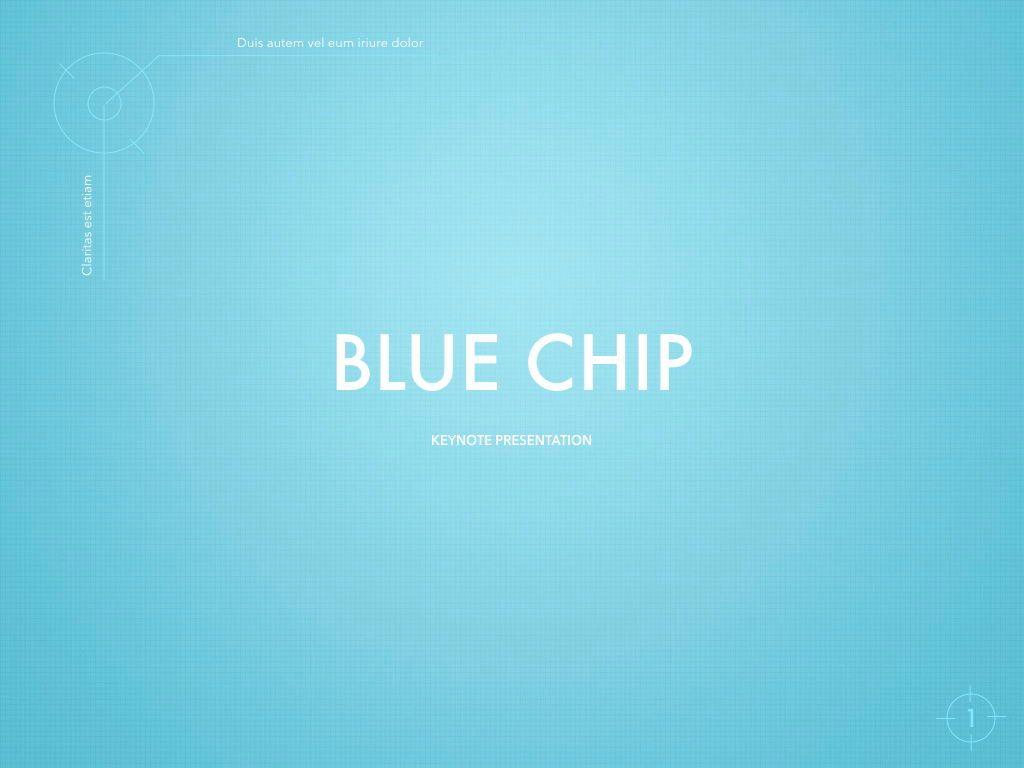 Blue Chip Powerpoint and Google Slides Presentation Template, 04583, Präsentationsvorlagen — PoweredTemplate.com