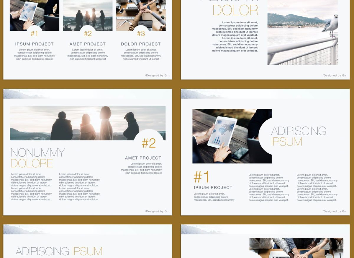 Bold Statement Powerpoint and Google Slides Presentation Template, Slide 3, 04584, Presentation Templates — PoweredTemplate.com