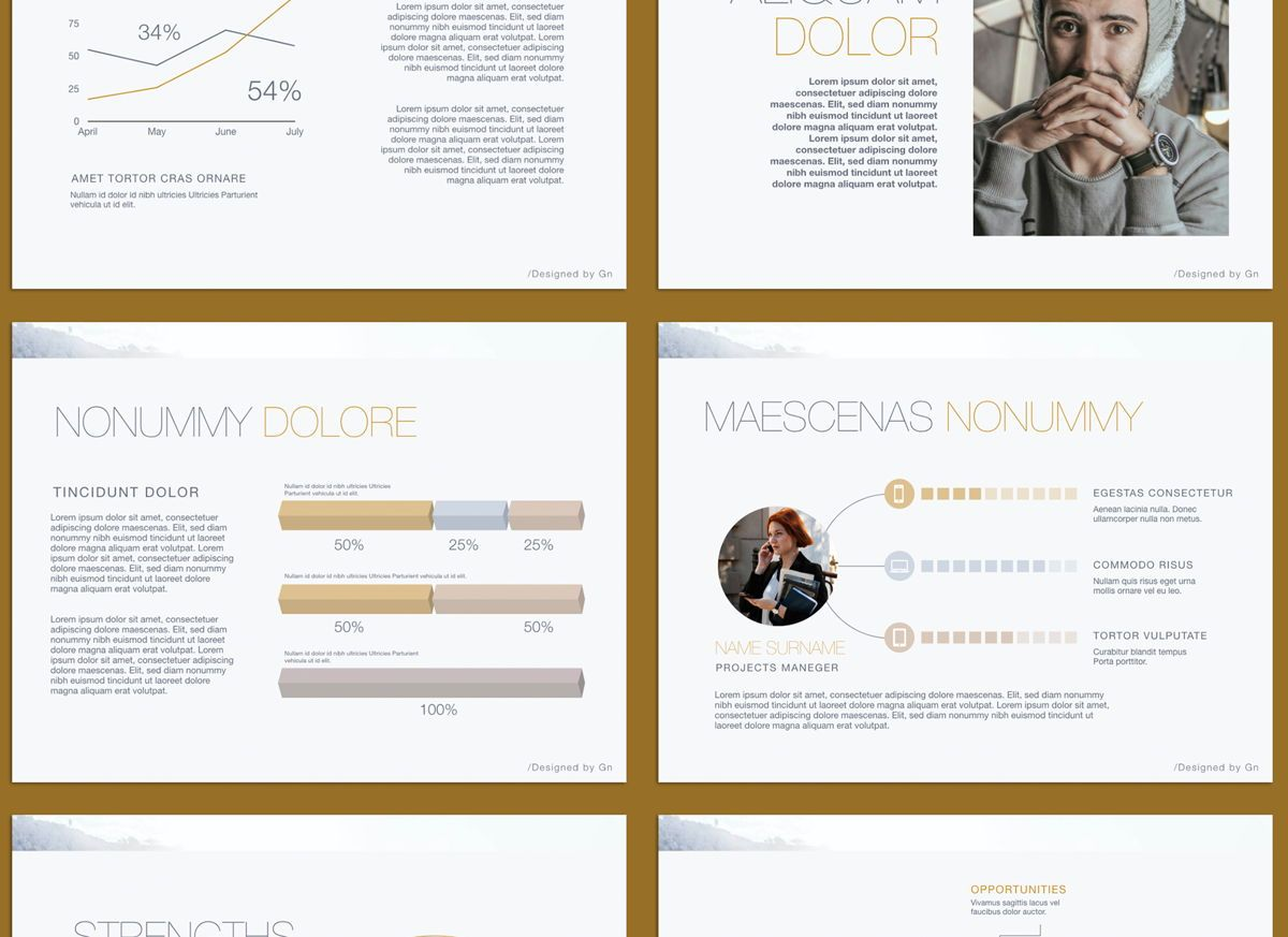 Bold Statement Powerpoint and Google Slides Presentation Template, Slide 4, 04584, Presentation Templates — PoweredTemplate.com