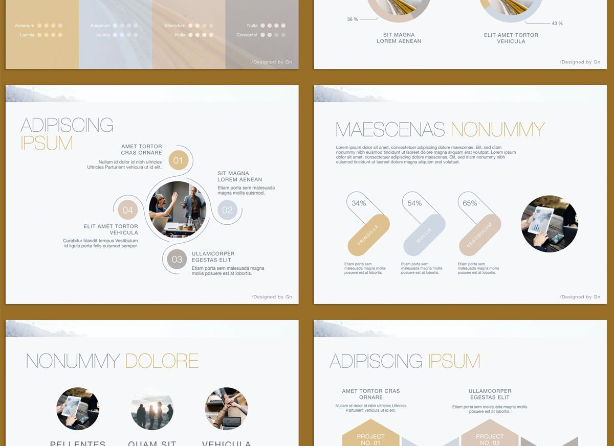 Bold Statement Powerpoint and Google Slides Presentation Template, Slide 5, 04584, Presentation Templates — PoweredTemplate.com