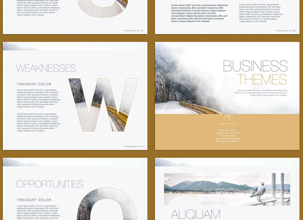 Bold Statement Powerpoint and Google Slides Presentation Template, Slide 6, 04584, Presentation Templates — PoweredTemplate.com