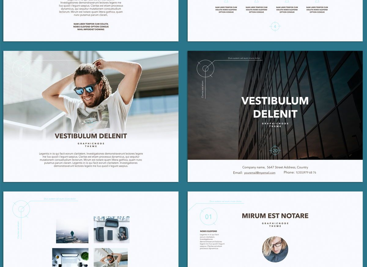 Blue Chip 02 Powerpoint and Google Slides Presentation Template, Folie 2, 04586, Präsentationsvorlagen — PoweredTemplate.com
