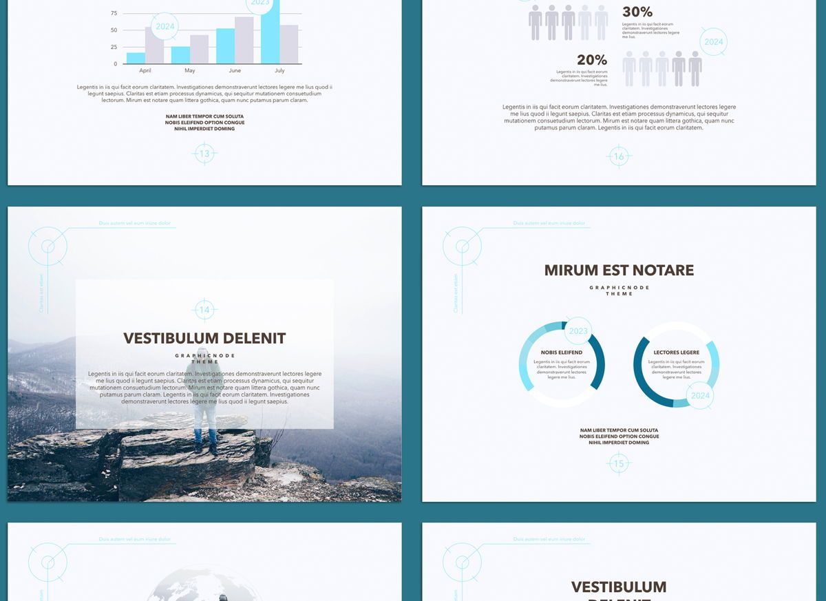Blue Chip 02 Powerpoint and Google Slides Presentation Template, Folie 3, 04586, Präsentationsvorlagen — PoweredTemplate.com