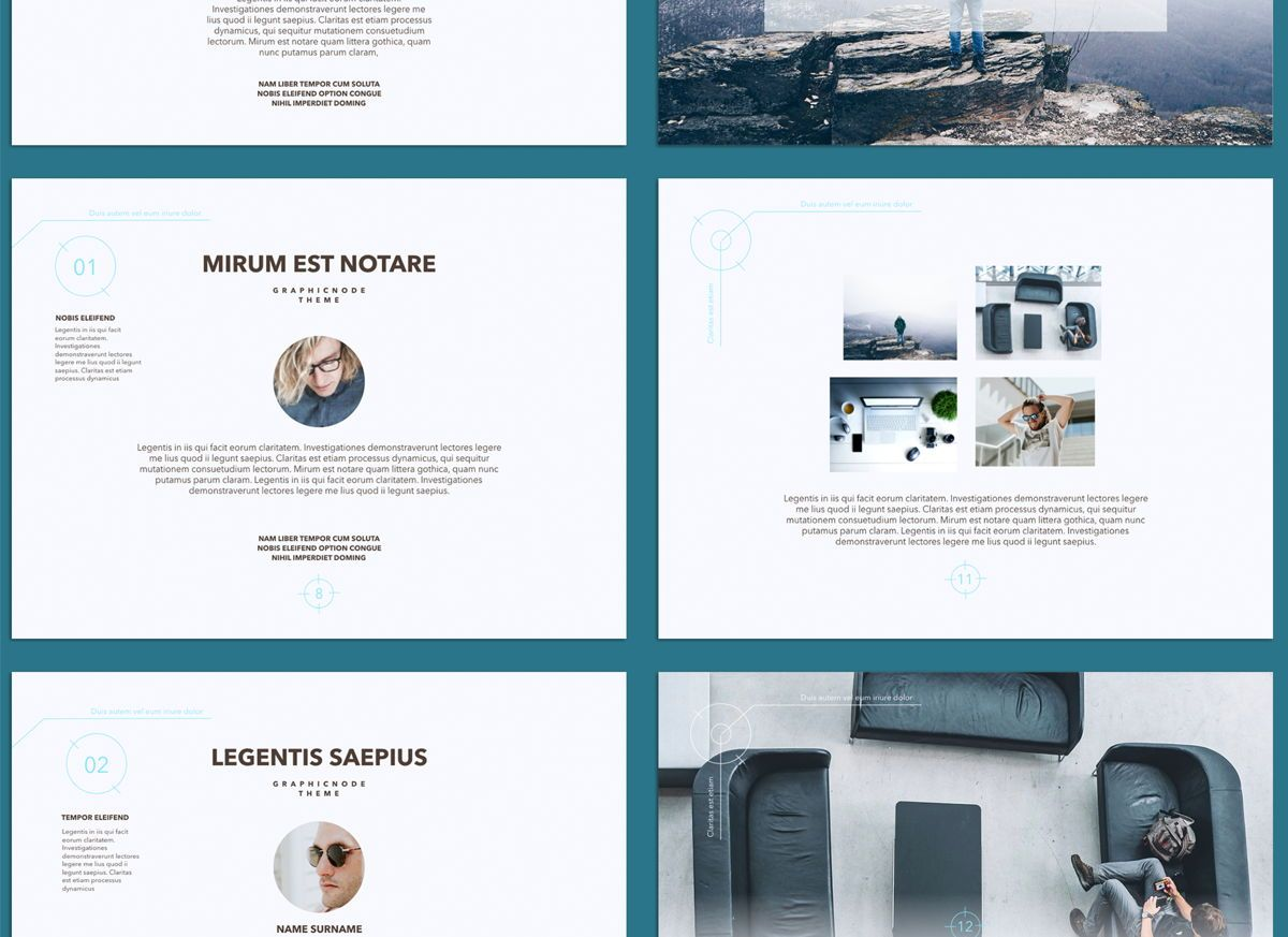 Blue Chip 02 Powerpoint and Google Slides Presentation Template, Folie 4, 04586, Präsentationsvorlagen — PoweredTemplate.com