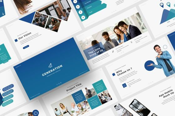 Presentation Templates: GENERATION - PowerPoint Template #04588