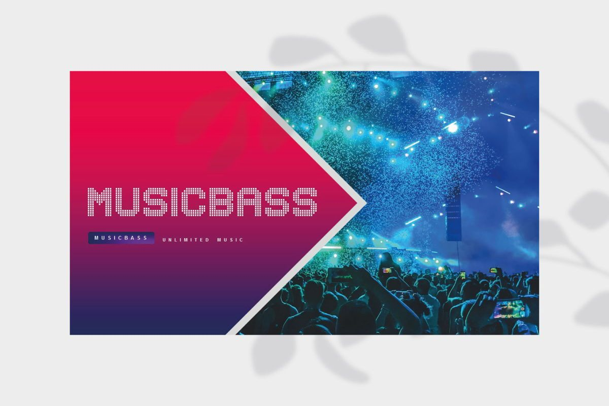 MUSICBASS- PowerPoint Template, Slide 2, 04590, Presentation Templates — PoweredTemplate.com