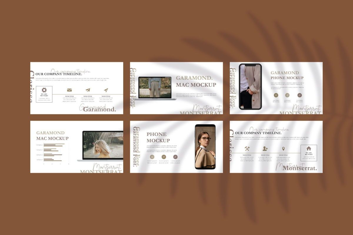 CLARISSA - PowerPoint Template, Slide 8, 04591, Presentation Templates — PoweredTemplate.com
