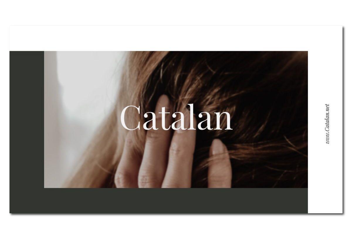 CATALAN - PowerPoint Template, Slide 2, 04592, Presentation Templates — PoweredTemplate.com