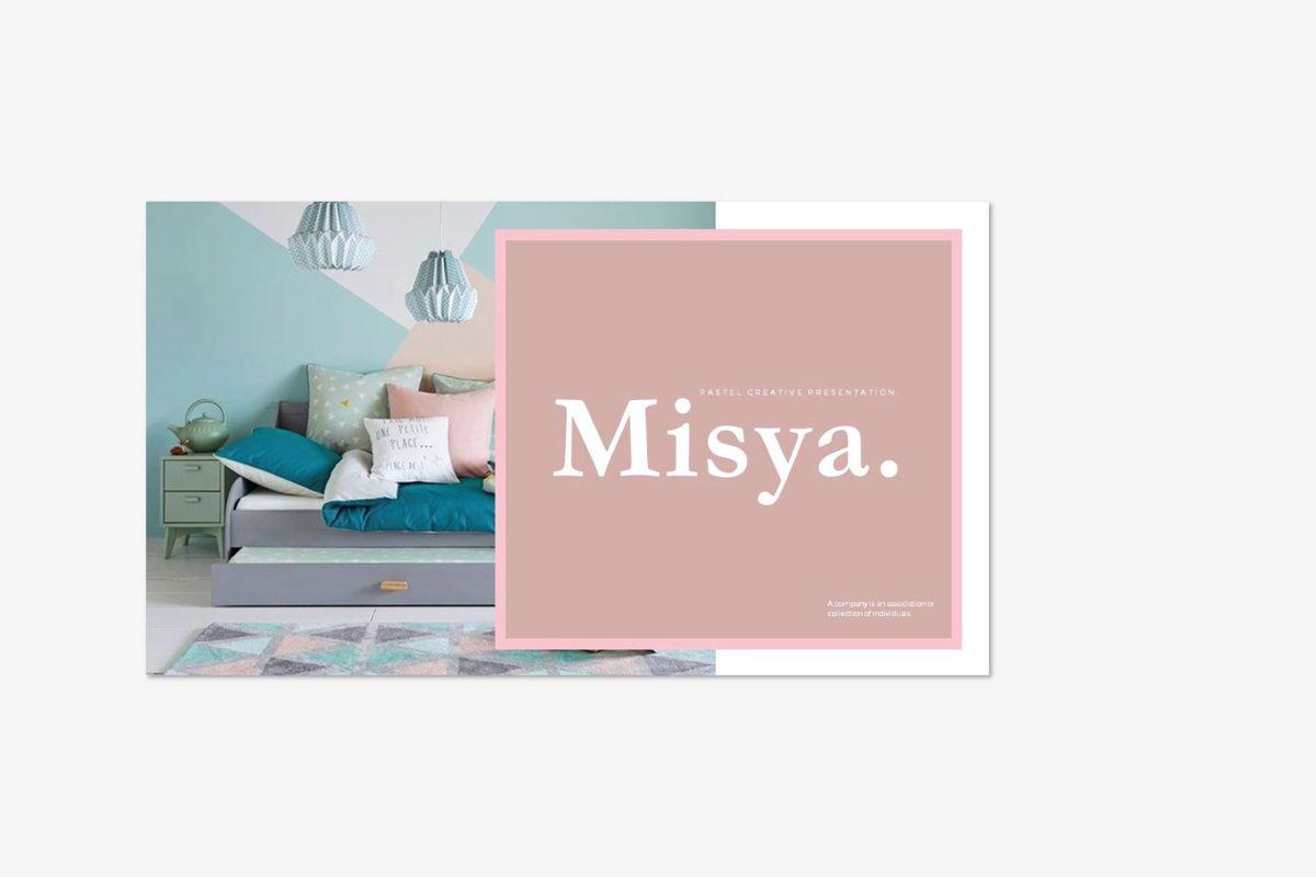 MISYA - PowerPoint Template, Slide 2, 04593, Presentation Templates — PoweredTemplate.com