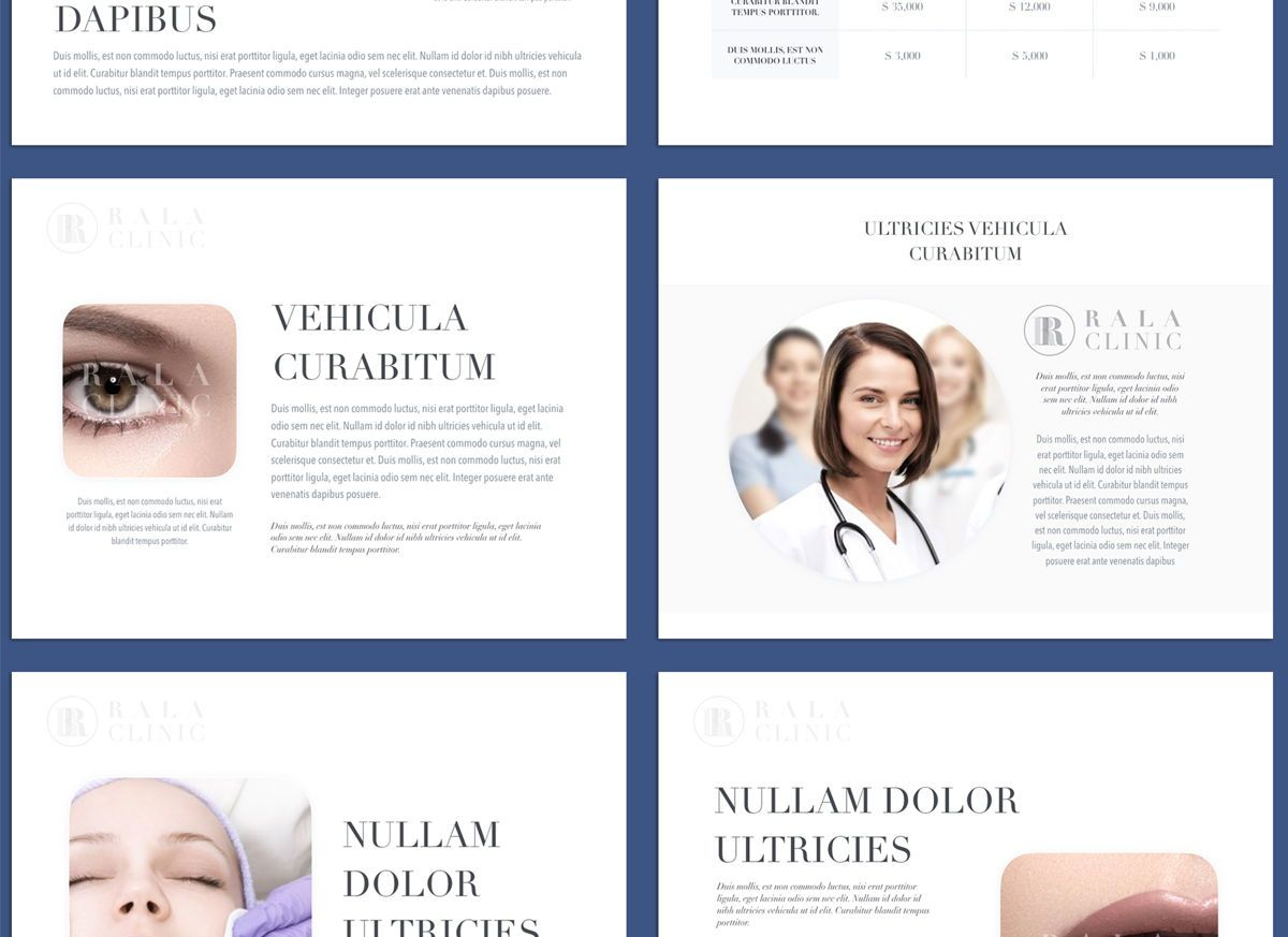 Clinical Powerpoint and Google Slides Presentation Template, Folie 2, 04598, Präsentationsvorlagen — PoweredTemplate.com