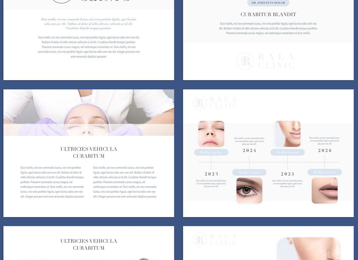 Clinical Powerpoint and Google Slides Presentation Template, Folie 3, 04598, Präsentationsvorlagen — PoweredTemplate.com