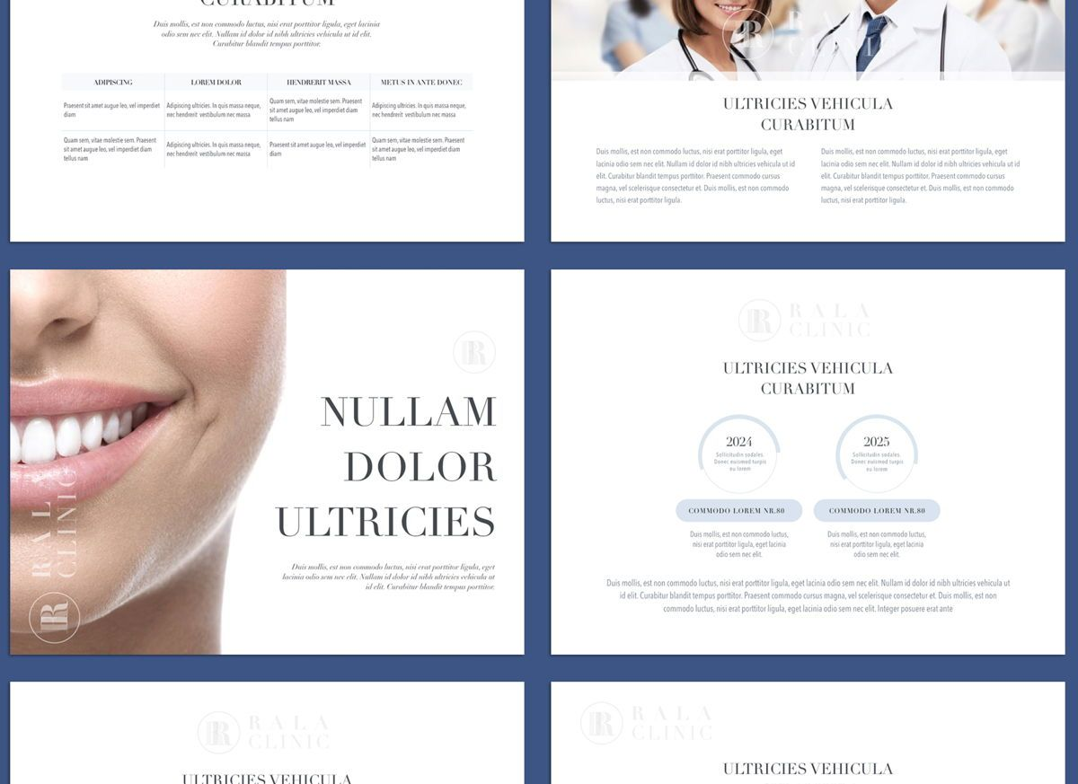 Clinical Powerpoint and Google Slides Presentation Template, Folie 6, 04598, Präsentationsvorlagen — PoweredTemplate.com