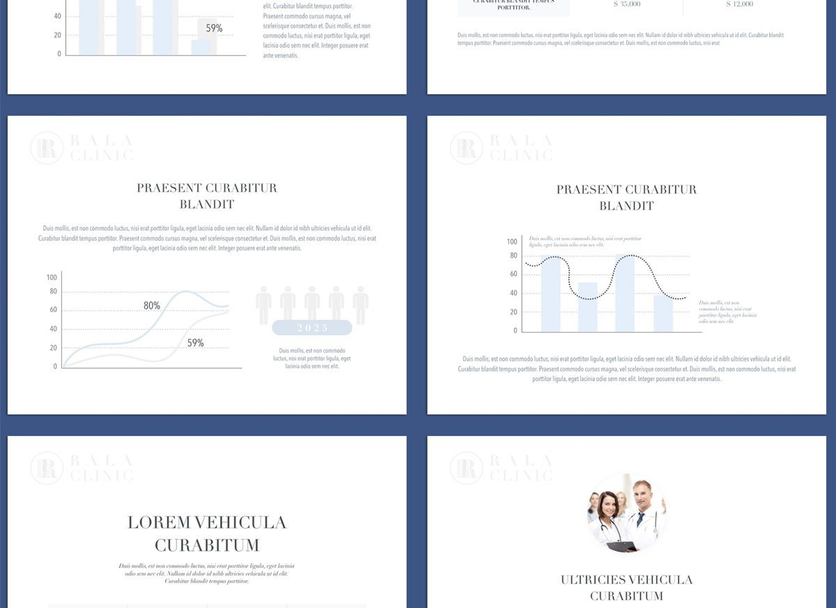 Clinical Powerpoint and Google Slides Presentation Template, Folie 7, 04598, Präsentationsvorlagen — PoweredTemplate.com