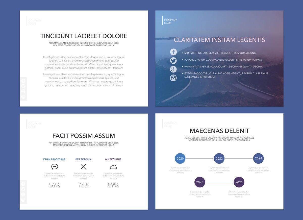 Dark Mist Powerpoint and Google Slides Presentation Template, Folie 2, 04602, Präsentationsvorlagen — PoweredTemplate.com